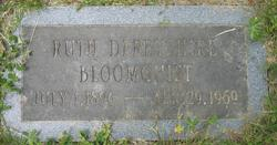 Ruth <i>Derbyshire</i> Bloomquist