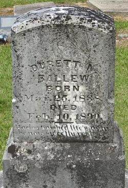 Durrett N Ballew