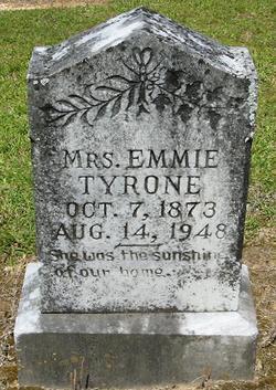 Mary Emily <i>Ballew</i> Tyone