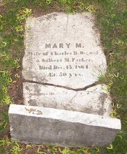 Mary M <i>Osgood</i> Parker