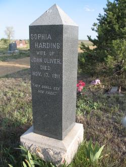 Sophia <i>Harding</i> Oliver