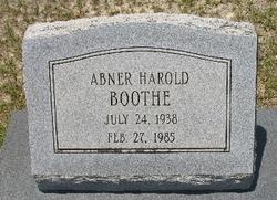Abner Harold Boothe