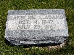 Caroline L Adams
