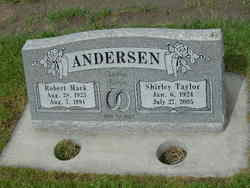 Shirley <i>Taylor</i> Andersen