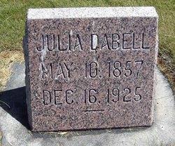 Julia Ann <i>Taylor</i> Dabell