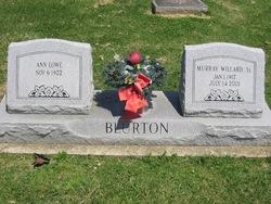 Murray Willard Blurton, Sr