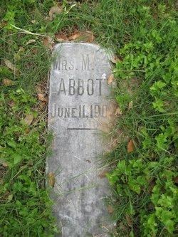 Mrs M Abbott