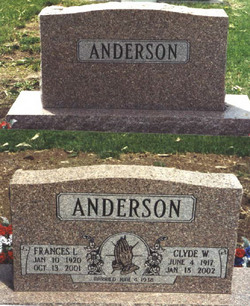 Frances Louise <i>Davis</i> Anderson