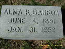 Alma K. Barrow