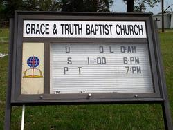 Grace and Truth Baptist Church Cemetery