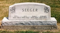 Effie R <i>Burkhart</i> Seeger
