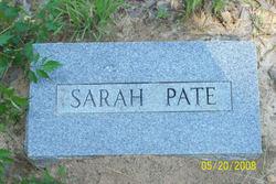 Sarah Meeks <i>Davis</i> Pate