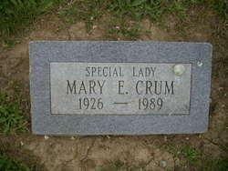 Mary E Crum