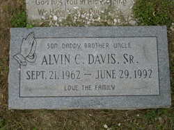 Alvin C. Davis, Sr