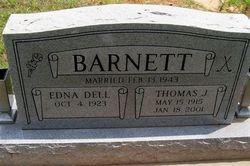 Edna Dell Barnett
