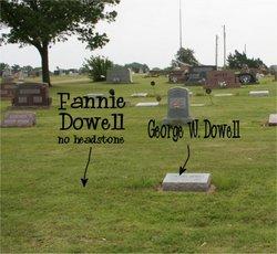 Francis J Fannie <i>Barrett</i> Dowell