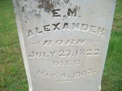 E. M. Alexander