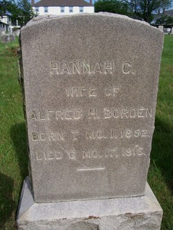 Hannah Clarke <i>Collins</i> Borden
