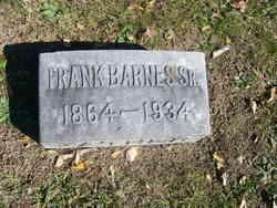 Robert Franklin Frank Barnes, Sr