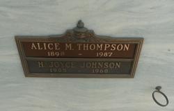 Alice Maddock <i>Bauer</i> Thompson