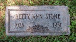 Betty Ann Stone