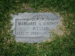 Margaret A. <i>Ainsworth</i> McClard