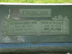 Ada H <i>Pierce</i> Covington