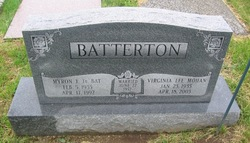 Virginia Lee <i>Mohan</i> Batterton