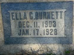 Clara Ella <i>Child</i> Burnett