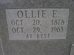Ollie EMALINE <i>BROWN</i> Tesreau