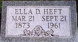 Ella D <i>Hawley</i> Heft