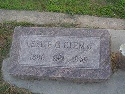 Leslie Garvin Clem, Sr