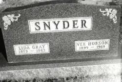 Vee Hobson Snyder