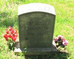 Bessie Champion