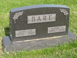 Mary L. <i>Lee</i> Bare