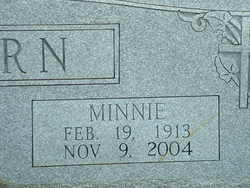 Minnie <i>Lewis</i> Amburn