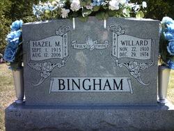 Hazel M <i>Thompson</i> Bingham