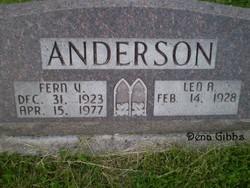 Fern V Anderson
