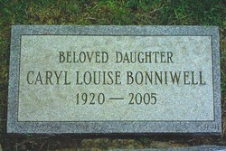 Caryl Louise Bonniwell