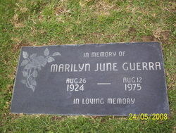 Marilyn June <i>Bloor</i> Guerra