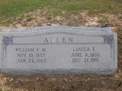 Louiza E. <i>Wilcox</i> Allen