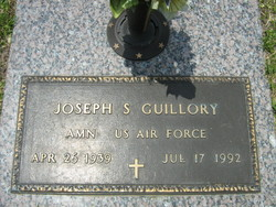Joseph S Guillory
