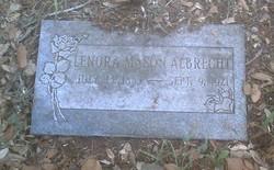 Lenora Nora <i>Mason</i> Albrecht