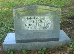 Hannah Lee <i>Blanchard</i> Head