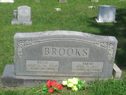 Sarah Ann <i>Crabtree</i> Brooks