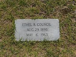 Ethel <i>Bloodworth</i> Council