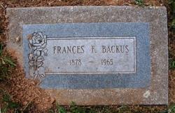Francis F. Backus