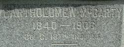 Bartholomew McCarty