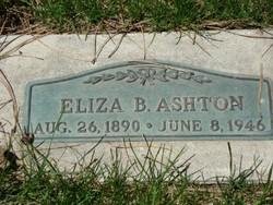 Eliza Belle <i>Child</i> Ashton