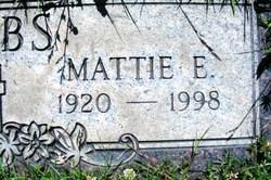 Mattie Elizabeth <i>Shinn</i> Dobbs
